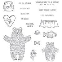 Bear Hugs Stamp Set
