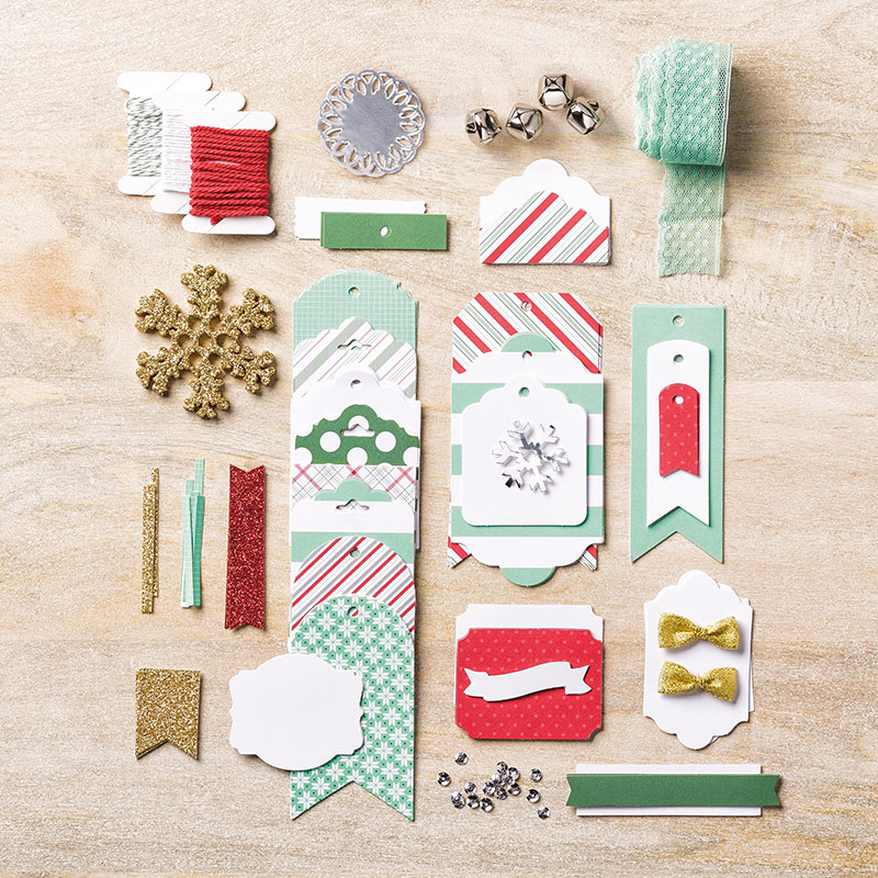 Oh What Fun Tag Project Kit, Stampin' Up!