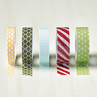 Season of Cheer Designer Washi Tape by Stampin' Up!