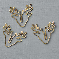 Reindeer Paper Clips Embellishments by Stampin' Up!