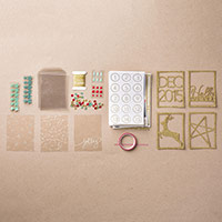Hello December 2015 Project Life Accessory Pack by Stampin' Up!