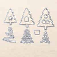 Perfect Pines Framelits Dies by Stampin' Up!