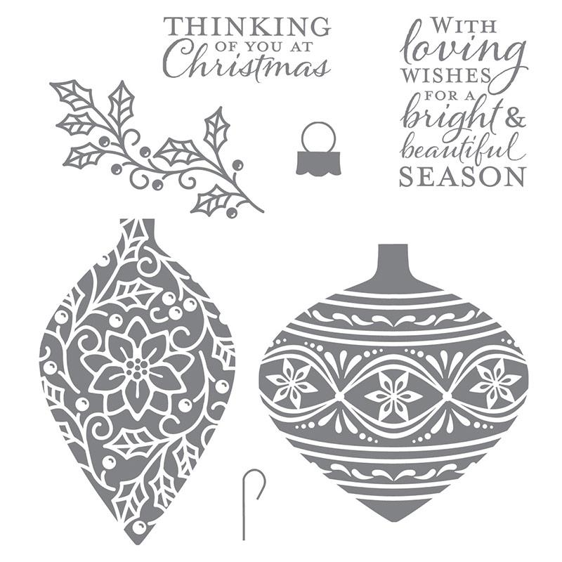 Embellished Ornaments, Stampin' Up!