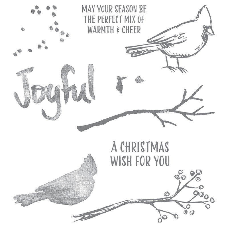 Joyful Season Photopolymer Stamp Set, Stampin' Up!