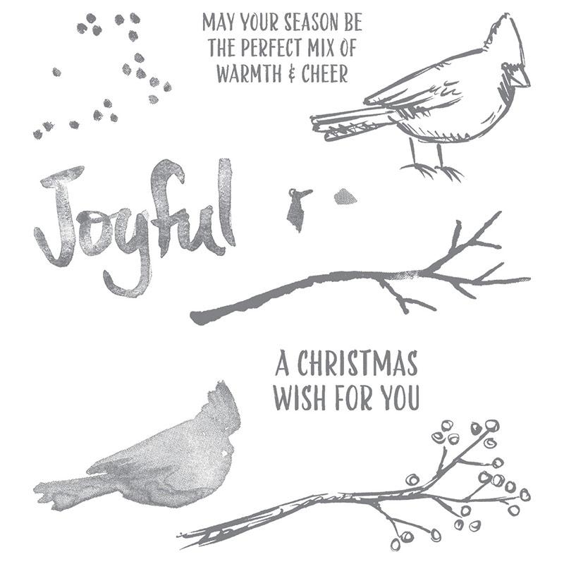 Joyful Season stamp set, Stampin' Up!