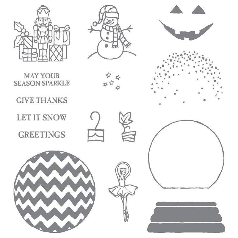 Sparkly Season stamp set, Stampin' Up!