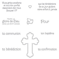 La grâce de Dieu Clear-Mount Stamp Set (French) by Stampin' Up!
