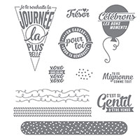 Pile de souhaits Photopolymer Stamp Set (French) by Stampin' Up!