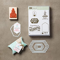 Happy Notes Wood-Mount Bundle by Stampin' Up!