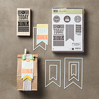 Amazing Birthday Wood-Mount Bundle by Stampin' Up!