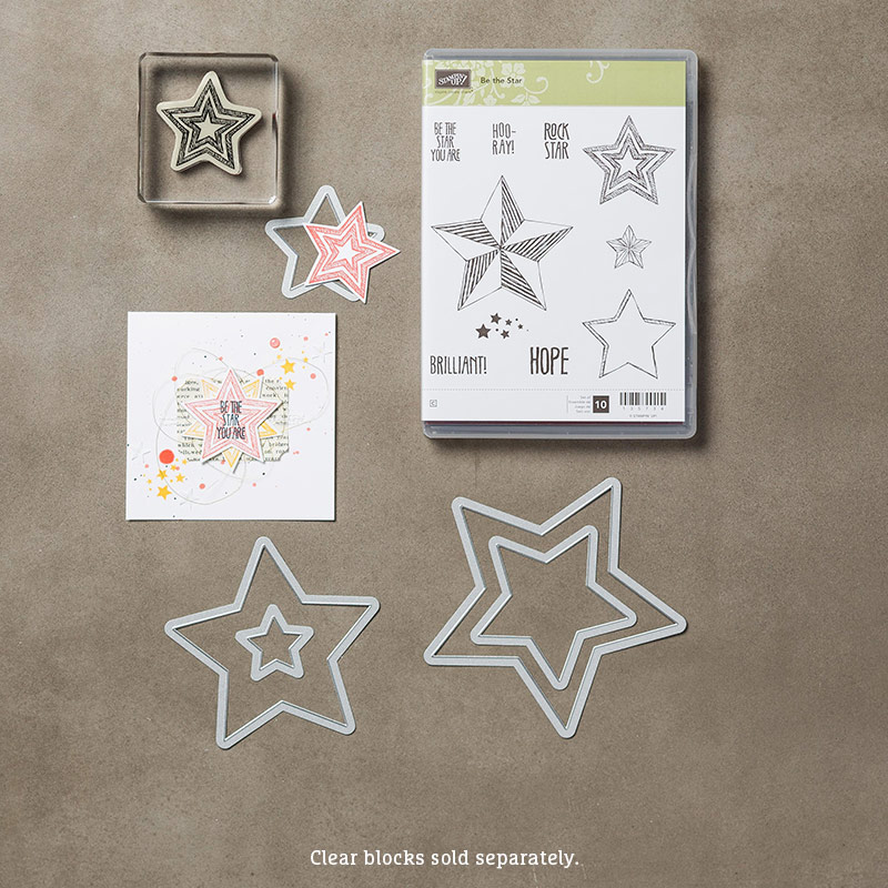 Be the Star Clear-Mount Bundle, Stampin' Up!