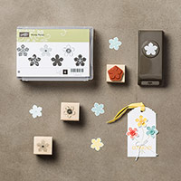 Petite Petals Wood-Mount Bundle by Stampin' Up!