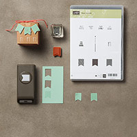 Vœux au vent Clear-Mount Bundle (French) by Stampin' Up!