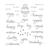 Endless Birthday Wishes Photopolymer Stamp Set by Stampin' Up!