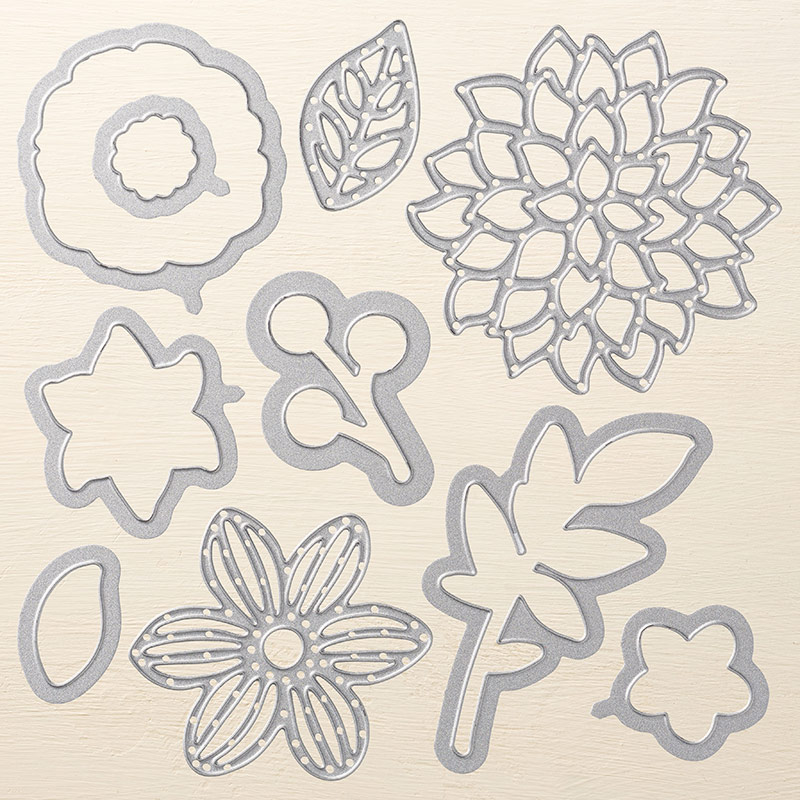 May Flowers Framelits Dies, Stampin' Up!