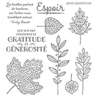 Feuilles légères Photopolymer Stamp Set (French) by Stampin' Up!