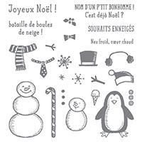 Petit Bonhomme Photopolymer Stamp Set (French) by Stampin' Up!
