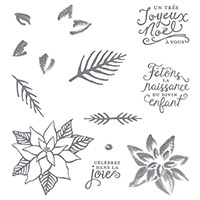 Saison de fêtes Photopolymer Stamp Set (French) by Stampin' Up!