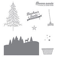 À vous tous Photopolymer Stamp Set (French) by Stampin' Up!