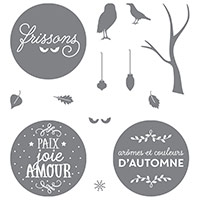 Entre les branches Photopolymer Stamp Set (French) by Stampin' Up!