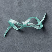 "Pool Party 3/8"" (1 cm) Glitter Ribbon by Stampin' Up!"