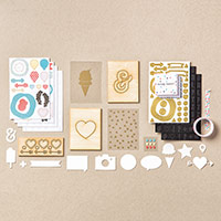 Memories in the Making Project Life Accessory Pack by Stampin' Up!