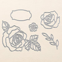 Rose Garden Thinlits Dies by Stampin' Up!