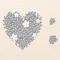 Bloomin' Heart Thinlits Dies by Stampin' Up!