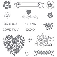 Bloomin' Love Photopolymer Stamp Set by Stampin' Up!
