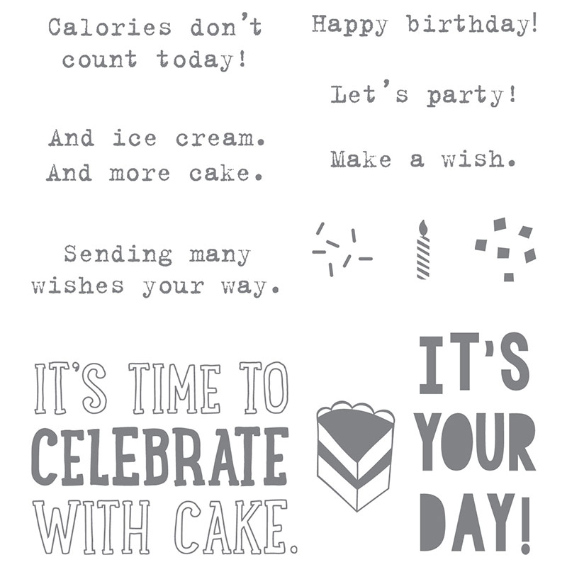 Party with Cake, Stampin' Up!