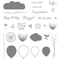 Balloon Celebration Photopolymer Stamp Set by Stampin' Up!