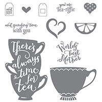 A Nice Cuppa Photopolymer Stamp Set by Stampin' Up!