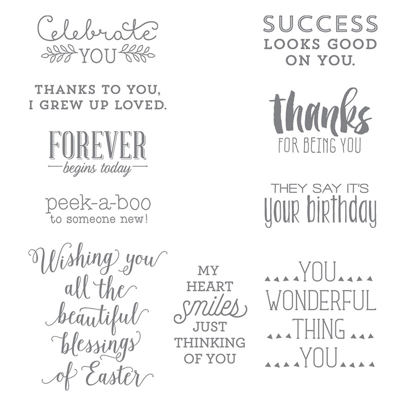 Suite Sayings, Stampin' Up!
