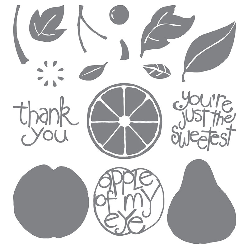 Apple of My Eye, Stampin' Up!