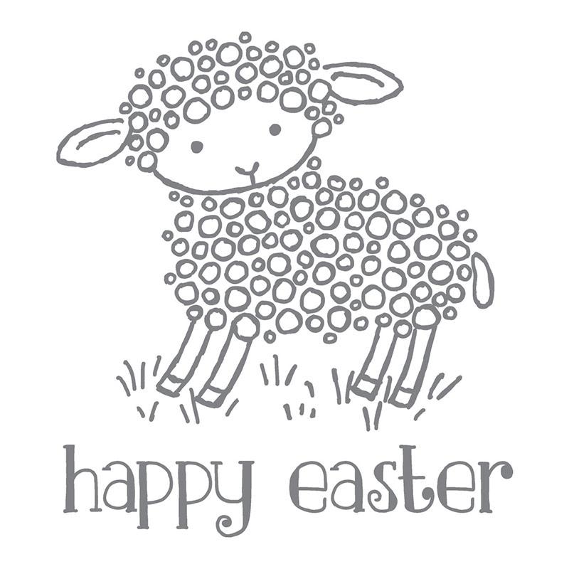 Easter Lamb, Stampin' Up!
