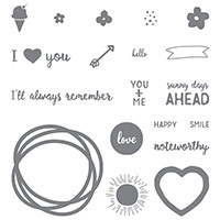 Project Life Memories in the Making Photopolymer Stamp Set by Stampin' Up!
