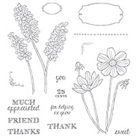 HELPING ME GROW PHOTOPOLYMER STAMP SET Price: $26.00