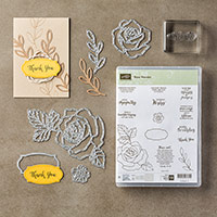 Rose Wonder Photopolymer Bundle by Stampin' Up!