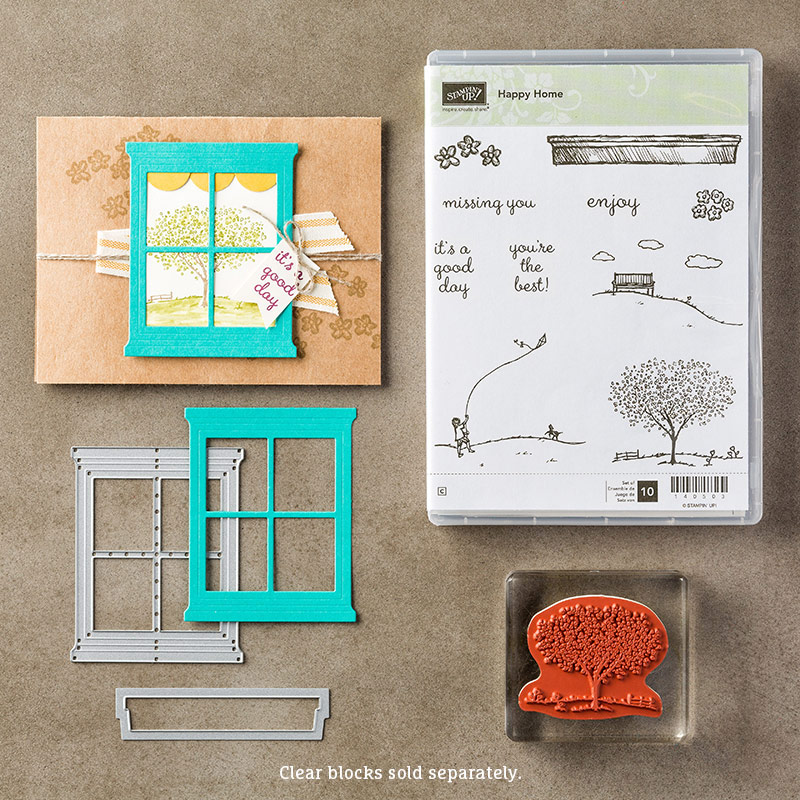 Happy Home Bundle, Stampin' Up!
