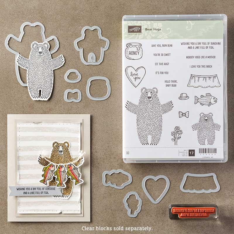 Bear Hugs Bundle, Stampin' Up!