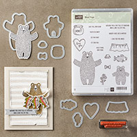 Bear Hugs Clear-Mount Bundle by Stampin' Up!