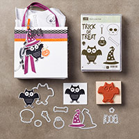 Howl-o-ween Treat Wood-Mount Bundle by Stampin' Up!