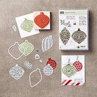 Embellished Ornaments Wood-Mount Bundle by Stampin' Up!