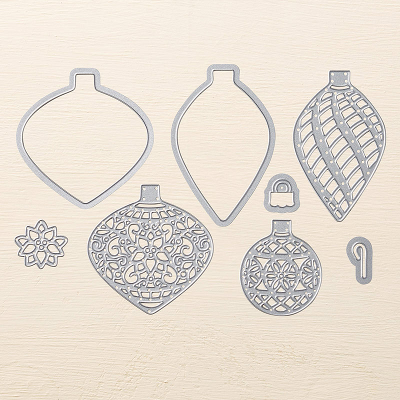 Delicate Ornament Thinlits Dies, Stampin' Up!