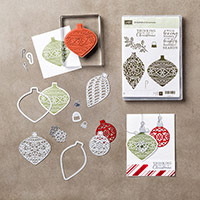 Embellished Ornaments Clear-Mount Bundle by Stampin' Up!