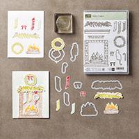 Festive Fireplace Photopolymer Bundle by Stampin' Up!