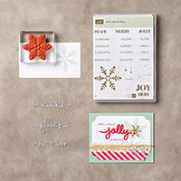 Holly Jolly Greetings Clear-Mount Bundle by Stampin' Up!