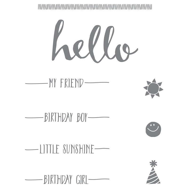 Hello, Stampin' Up!