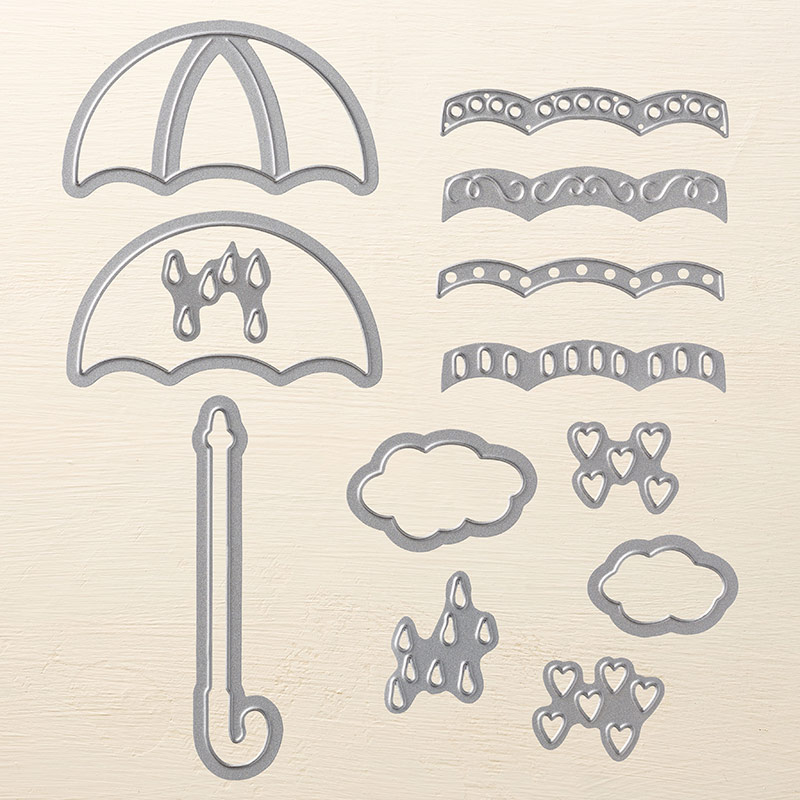 Umbrella Weather Framelits Dies
