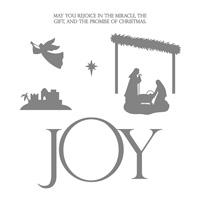 Joyful Nativity Photopolymer Stamp Set